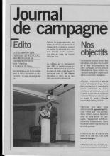 journal distribué à nouveau en 2008 lors des élections municipales