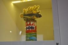 Photographie du totem (restauré) du gòbi