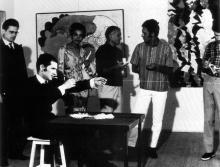 Galerie A octobre 1966
