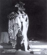 Photographie de la performance in <em>Chroniques niçoises, Génèse d'un Musée</em>, tome II