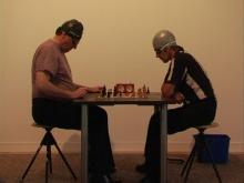 à gauche Joseph Mouton, à droite Bruno Mendonça