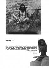 Photographie du voyage: Sadhus
